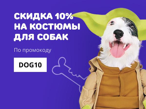 Акция Костюмы для собак
