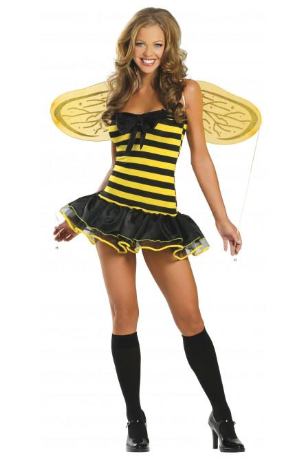 Костюм пчелки кокетки