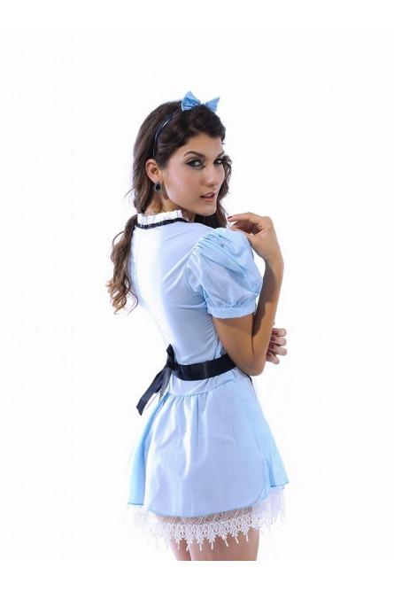 Костюм сказочной Алисы в стране чудес