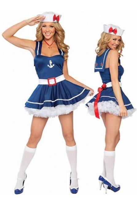 Костюм очаровательной морячки