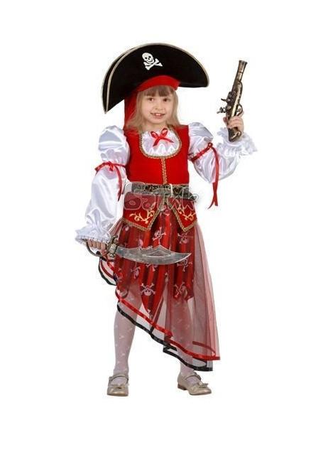Костюм пиратки детский