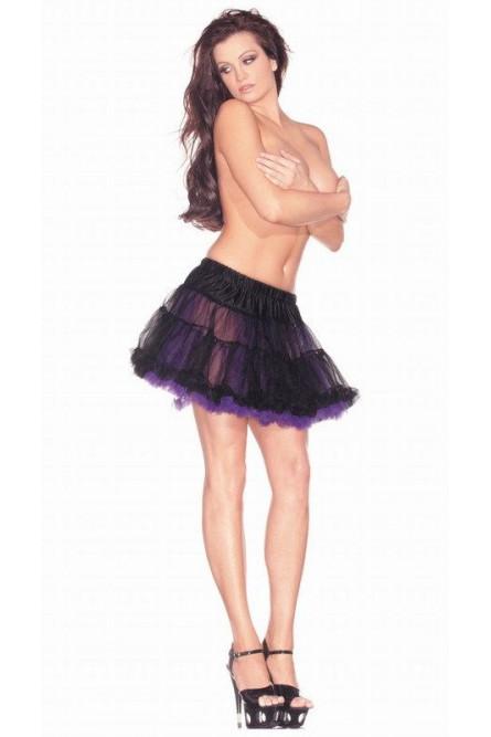 Подъюбник черно-фиолетовый