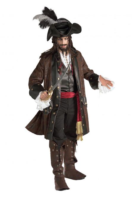 Костюм карибского пирата Deluxe