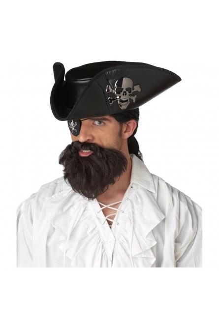 Борода пирата капитана
