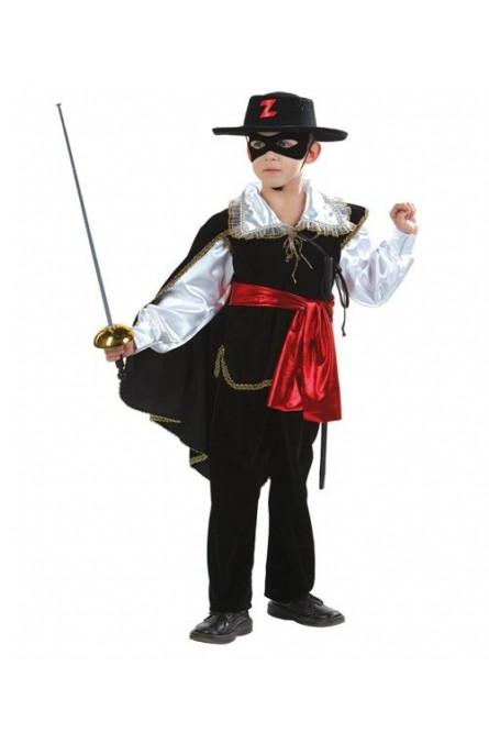 Детский костюм смелого Зорро