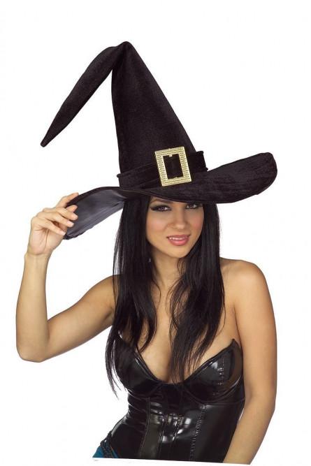 Шляпа ведьмы с пряжкой