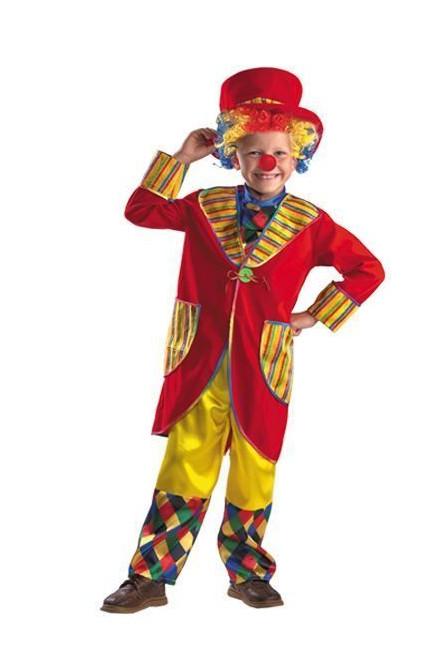 Детский костюм клоуна-весельчака