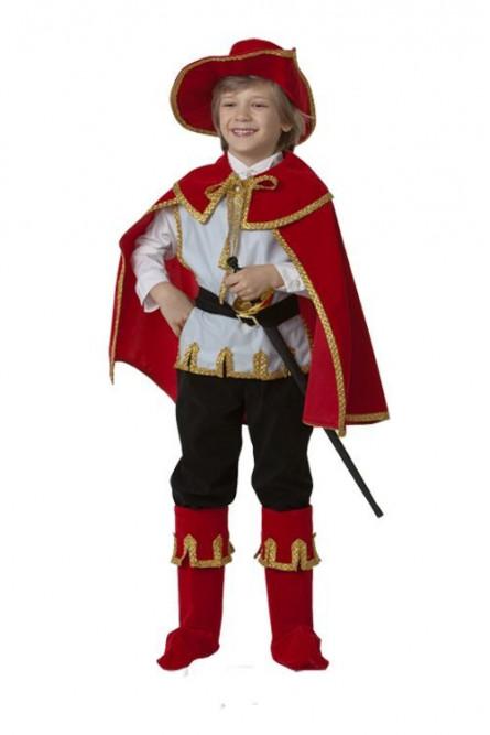 Детский костюм котика в красных сапогах