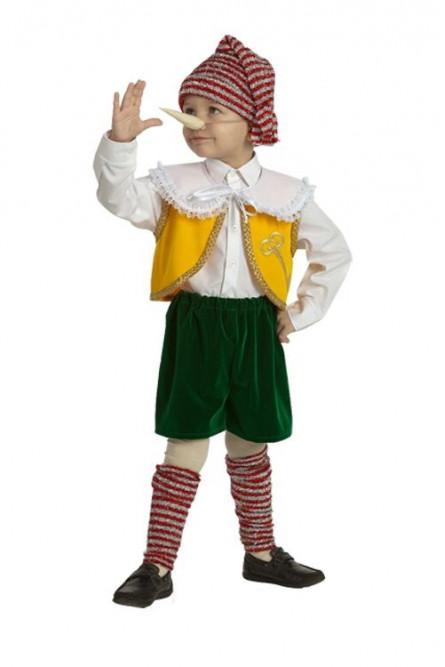 Детский костюм мальчика Пинокио