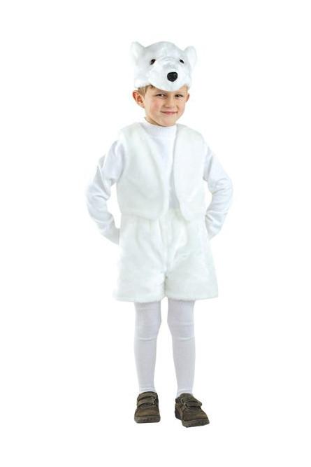 Детский костюм северного мишки