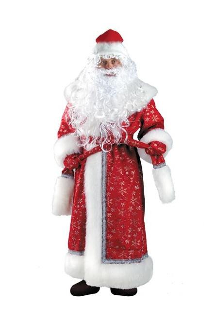Костюм Деда Мороза из плюша