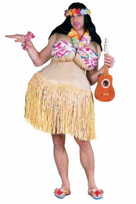 Костюм гавайской пышечки