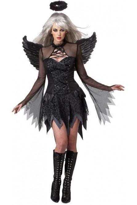 Костюм черного падшего ангела