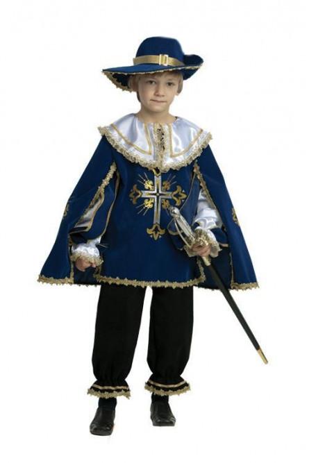 Детский костюм королевского мушкетера