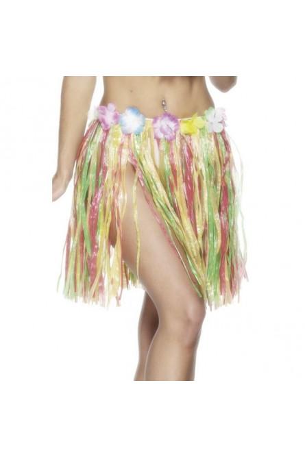 Цветная гавайская юбка