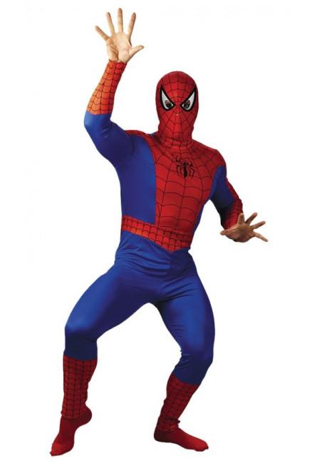 Взрослый костюм Спайдермена