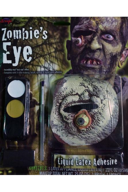 Набор для зомби с вытекшим глазом