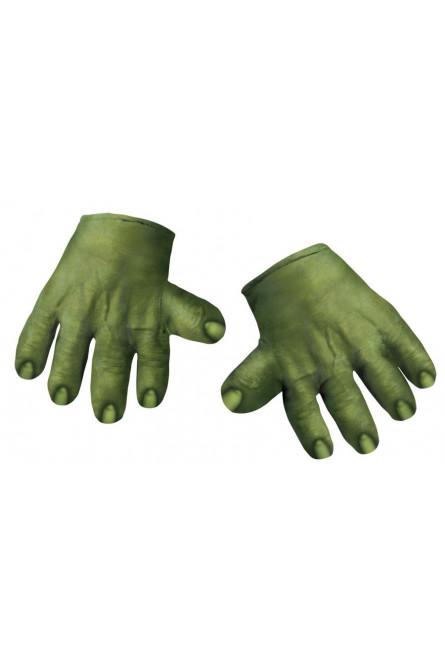 Мягкие перчатки Халка