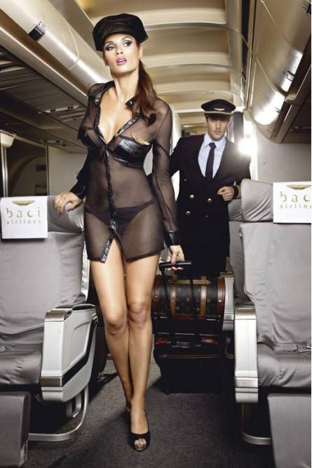 Комплект милой стюардессы