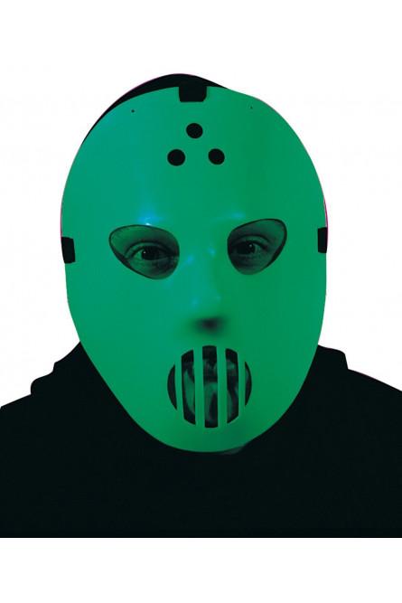 Светящаяся маска для хоккея