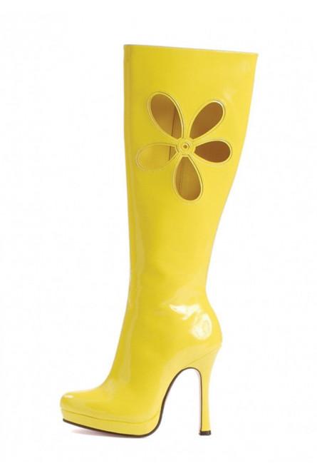 Желтые сапоги для танцев