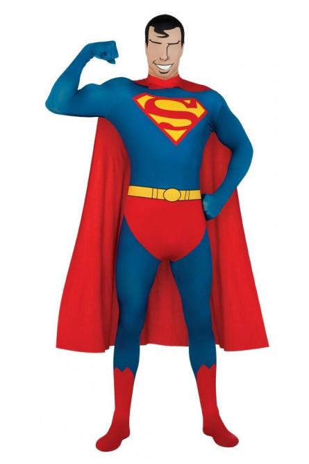 Костюм супермена вторая кожа