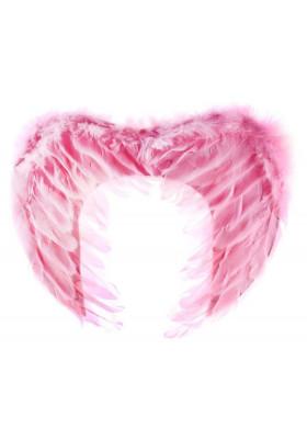 Крылья розовые 30 см.