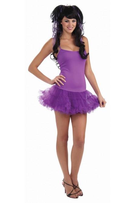 Фиолетовое платье феи