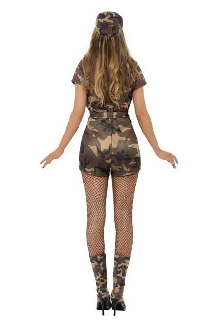 Женский сексуальный милитари костюм