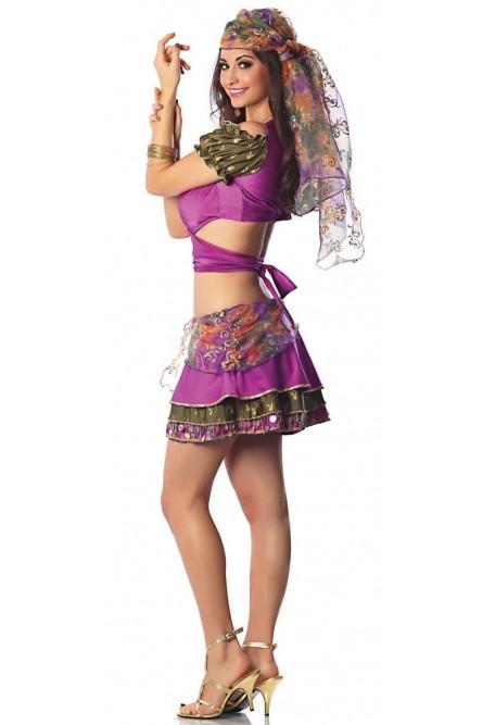 Фиолетовый костюм мистической цыганки