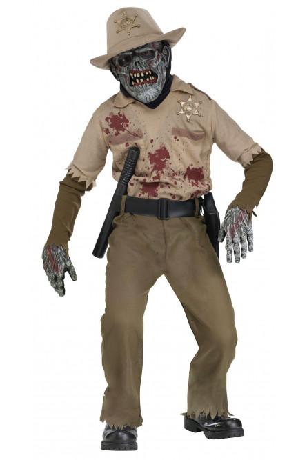 Детский костюм зомби шерифа