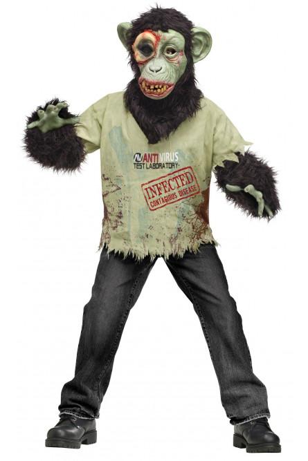 Детский костюм Зомби-шимпанзе