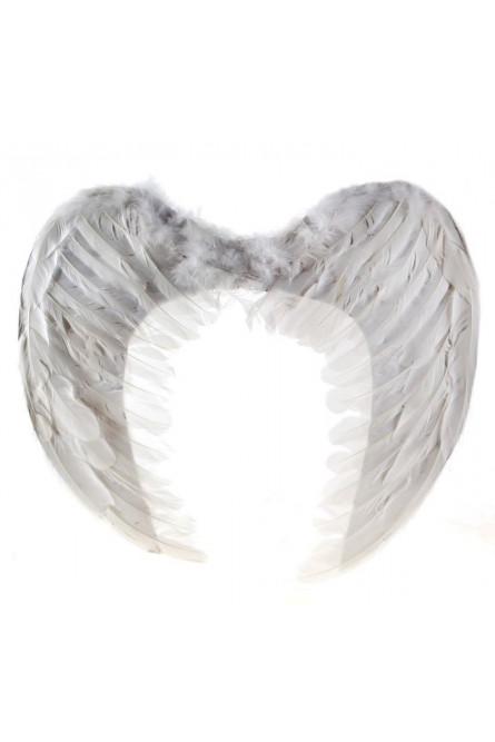 Крылья ангела из перьев