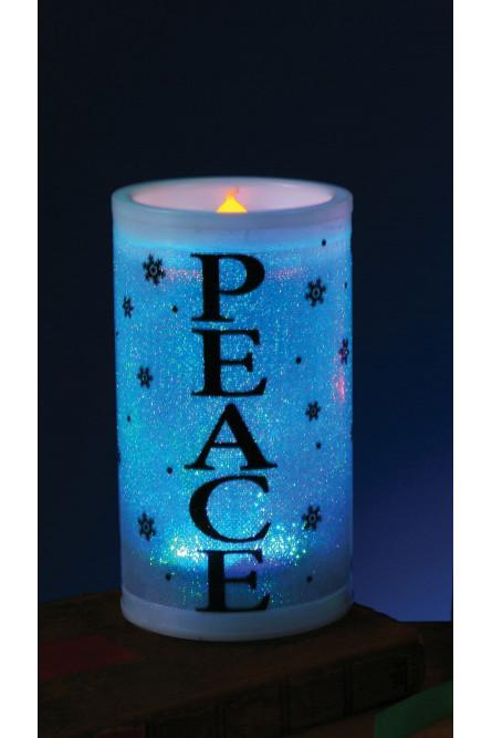 Декоративная свеча Peace