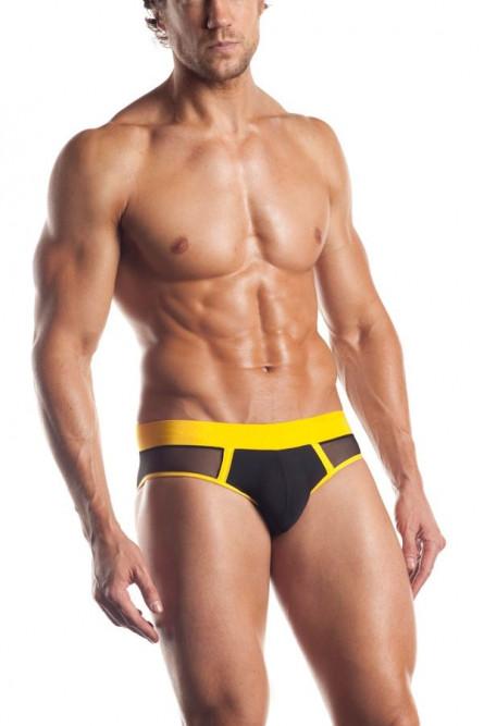 Черно-желтые мужские трусы