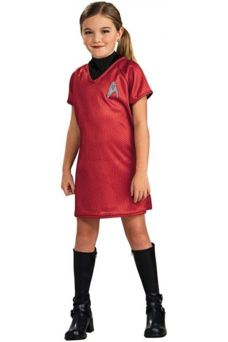 Детский костюм Ухуры Star Trek
