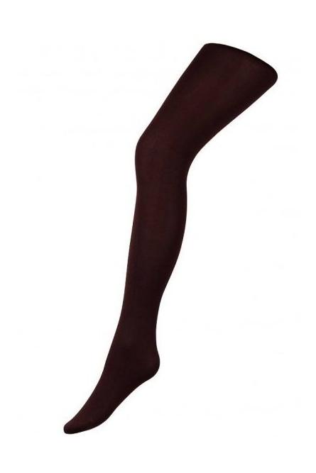 Колготки коричневого цвета
