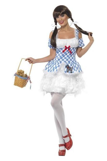Костюм милашки Дороти голубой