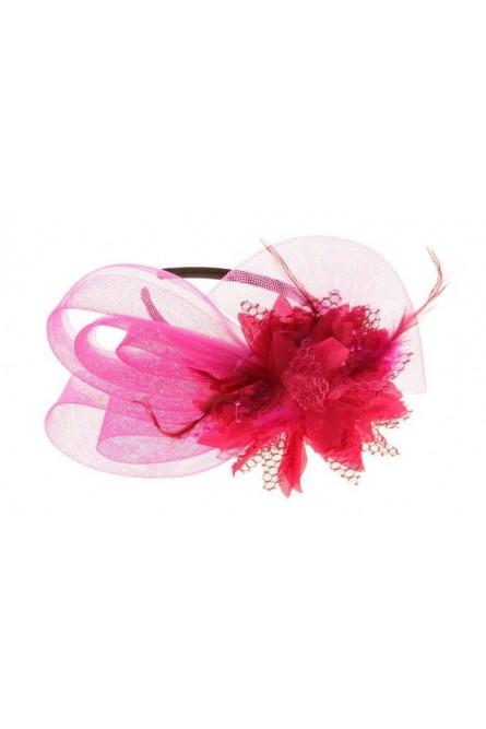 Разборный розовый ободок Эхинацея