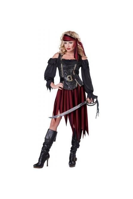 Костюм пиратки королевы