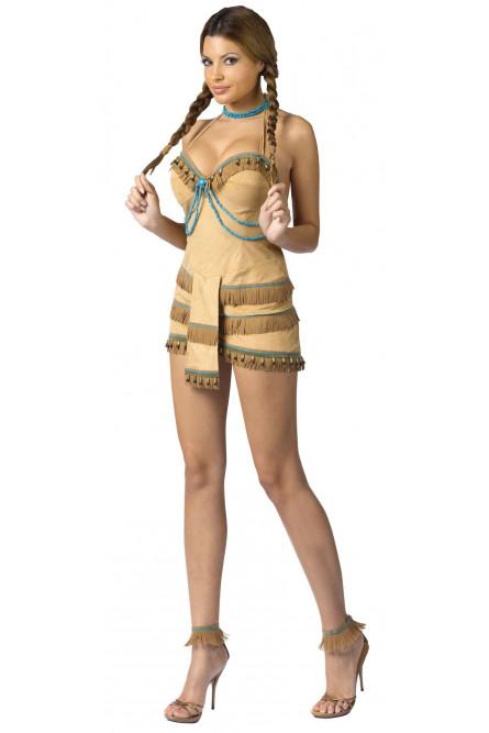 Костюм секси принцессы индейцев