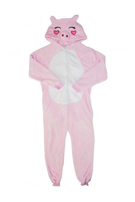 Детская пижама кигуруми Хрюшка