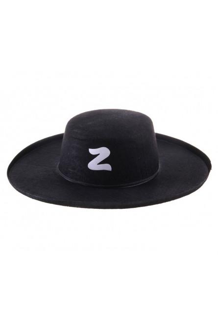 Классическая шляпа Зорро