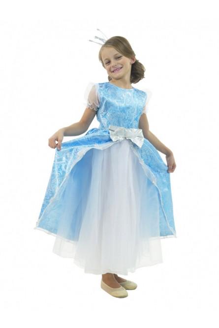 Бирюзовый костюм принцессы