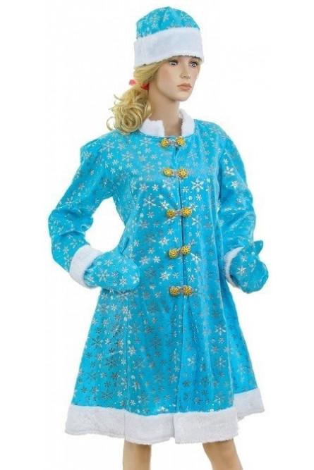 Классический костюм Снегурочки