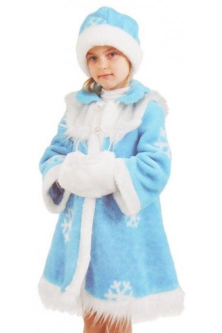 Классический детский костюм Снегурочки