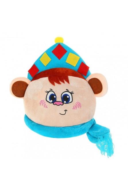Шляпка Обезьянка-снегурочка