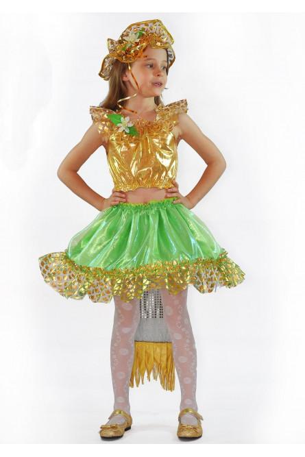 Детский костюм золотистой русалочки