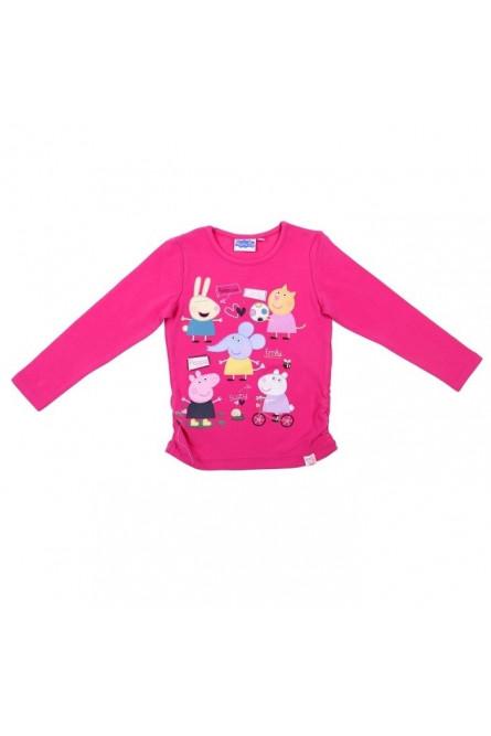 Ярко-розовая футболка Свинка Пеппа