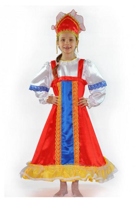 Русский наряд для девочек